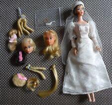 Barbie vintage Mattel 70er kleines Konvolut Hair Fair Barbie Köpfe und Zubehör