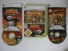 LEGO INDIANA JONES LA TRILOGIE ORIGINALE + KUNG FU PANDA - MICROSOFT X BOX 360