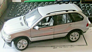 Bmw X5 1:18 Welly 9842 Grey Argento No Minichamps Autoart