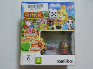 NEW* Amiibo Festival Animal Crossing Nintendo Wii U game with cards/ toys