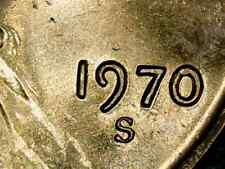 1970-S Lincoln Cent Doubled Die Obverse 1DO-018 Gem BU