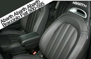 Bracciolo Filocar Fiat 500 ABARTH 595-695 Armrest Racing style - Nero