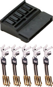 10 50 100pcs 15 pin Female Sata Power Connector + 5x3 Sata Female Pins MacroMods