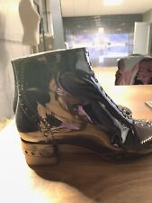 CHLOE ICONIC PERRY ANKLE BROGUE BOOTS ICON STIEFEL SCHUHE SHOES STIEFELETTEN 40