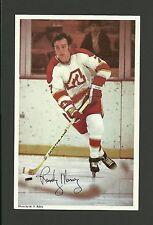 Randy Manery Vintage Atlanta Flames 1970s Hockey Postcard