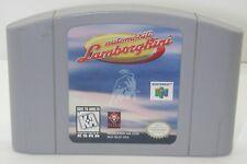 Nintendo N64 Automobili Lamborghini Game Cartridge. Works. R13545