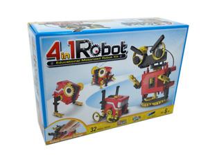 JOHNCO - 4 IN 1 EDUCATIONAL MOTORIZED ROBOT KIT
