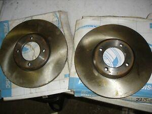 Ford Escort MK1 MK2 front brake discs Brembo 082275.10 247.5mm solid