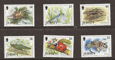 Jersey 2002 Insects MNH