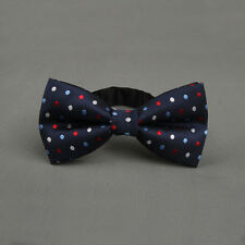 Fashion Men Trendy Popular Colorful Adjustable Dots Gravata Bow Tie For Party