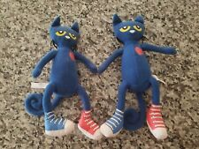 """2 Pete The Cat In Sneakers 10"""" Plush Toy"""