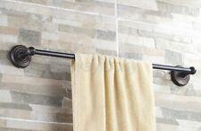 Black Oil Rubbed Bronze Bathroom Wall Mounted Towel Rack Holder Single Towel Bar