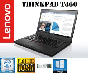 """Lenovo ThinkPad T460 14"""" ULTRABOOK· IPS Full HD· Intel i5-6300U· 8GB· M.2 SSD"""