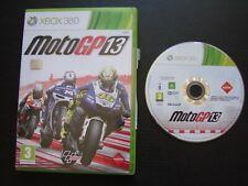 MOTO GP 13 : JEU Microsoft XBOX 360 (courses, envoi suivi)
