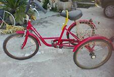 bicicletta tre ruote  schiano con cambio
