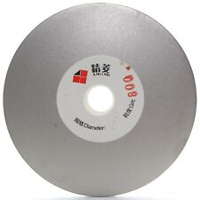 """4"""" inch 100mm Grit 800 Diamond Grinding Disc Wheel Coated Flat Lap Disk Lapidary"""