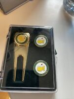New 2020 Masters Golf Divot Tool and Ball Marker Set - Augusta