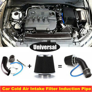 76mm CNC Car Truck Cold Air Intake Filter Induction Pipe Power Flow Hose System