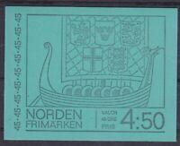 Schweden MI 629 D 10x ** im Markenheftchen, Booklet postfrisch, MNH
