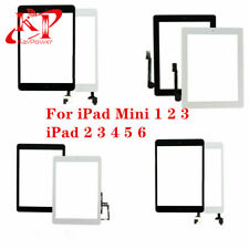 For iPad 2 3 4 5 6 Air Mini 1 2 Touch Screen Digitizer Replacement Adhesive Home