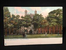 Antique POSTCARD c1905, New Haven, CT., Yale Campus, Phelps Hall & Gateway Area