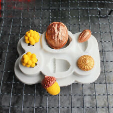 Nuts Berries Silicone Fondant Mold Chocolate Cake Bakeware Topper Cupcake Mould