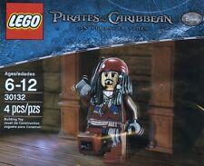 Lego Piratas Del Caribe Capitán Jack Sparrow 30132 Bolsa De Polietileno