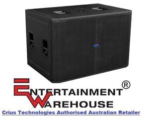Crius Technologies LF-218X  4800watt, Dual; 18inch, Passive Subwoofer