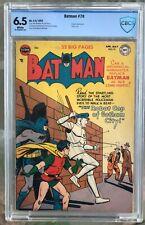 Batman #70 (1952) CBCS 6.5 -- Penguin app; Win Mortimer robot cover - Like CGC