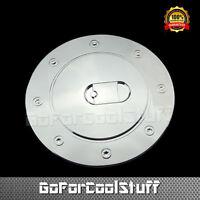 For Gmc 07 08 09 10 11 12 13 14 Yukon / Xl Chrome Gas Tank Fuel Door Cover