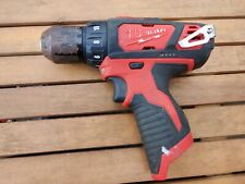 "PREOWNED- MILWAUKEE 2407-20 M12 3/8"" DRILL/DRIVER BARE TOOL ONLY"