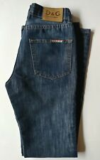 D&G Ittierre Men's Jeans Indigo Blue Denim sz Italy 30 USA W30/L43/INS33 Classic