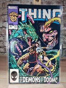 Marvel 1984 The Thing Comic Book Issue #13 july