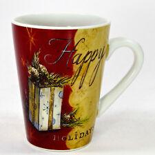 Oneida SEASON'S GREETINGS - HAPPY HOLIDAYS 10oz Mug Angela Staehling Christmas