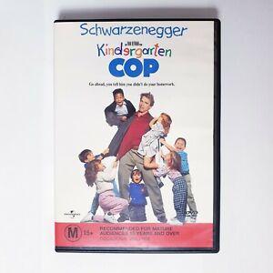 Kindergarten Cop DVD Region 4 AUS Free Postage - Comedy Arnold Schwarzenegger