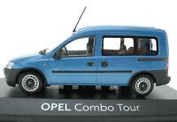 MINICHAMPS - OPEL Combo Tour hellblau metallic - 1:43 in OVP / Box - Modellauto