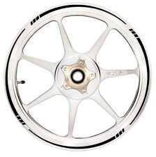 BLACK Wheel Rim Tape TAPERED Stripe fit ALL Makes of Motorcycle Honda, Yamaha