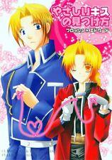 Fullmetal Alchemist doujinshi Brosh x Ed Edward How to Find a Tender Kiss