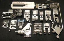 17 Sewing Feet Set -  Pfaff High Snank Models Listed