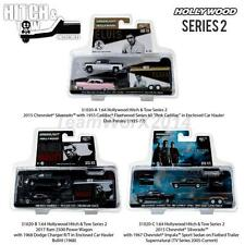 GREENLIGHT HOLLYWOOD HITCH & TOW SET OF 3 DIECAST 1:64 31020 A B C NEW!!