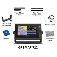 Garmin GPSMAP 722 7-inch Touchscreen Chartplotter Worldwide 010-01738-00