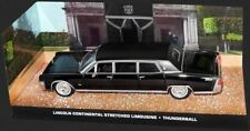 LINCOLN CONTINENTAL STRETCHED LIMOUSINE THUNDERBALL BOND UNIVERSAL HOBBIES 1/43