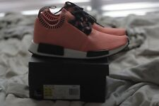 "New Adidas NMD R1 BOOST PK AC8171 ""Orange Noise"" UK Exclusive Size 10.5 OG Yeezy"