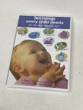 Ten Things Every Child Needs (DVD, 2004)