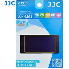 JJC LCP-CM1 hard polycarbonate LCD Screen Protector For Panasonic LUMIX CM1 2 Pk