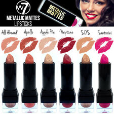 W7 Cosmetics - Metallic Mattes Creamy & Long Lasting Lipsticks - Set of 6