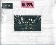 Sheet Set ~ Ralph Lauren ~Queen~ White ~ 300TC  ~ 100% Cotton Sateen
