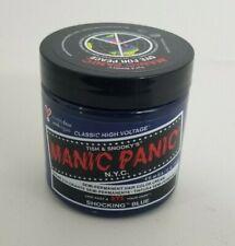 Shocking Blue Manic Panic Vegan Semi Permanent Hair Dye Color Cream 4 Oz