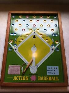 "Vintage Pressman Toy Corp Action Baseball Game 2279 from 1960""s"