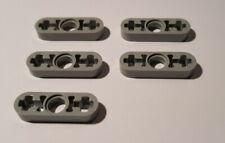 41677 10 X Lego Technique Liftarm Plat 1 x 2-clair-gris bleu NOUVEAU
